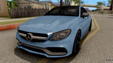 Dc Amg Mercedes Coupe B66962271 mercedes c63s amg coupe for gta san andreas