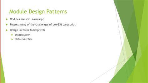 design pattern javascript node js module design pattern i e express js