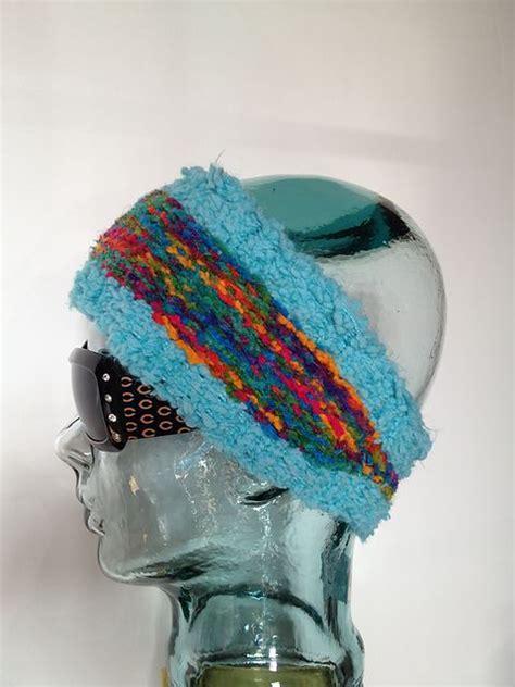 loom knit ear warmer tapered ear warmer loom knit pattern by breaux