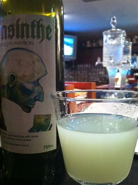 Marilyn Does Vegas Absinthe by Mansinthe Marilyn Absinthe Tempus Fugit Spirits