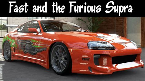 Why Are Toyota Supras So Fast Fast And The Furious Toyota Supra On Yas Marina