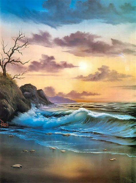 bob ross painting seascape 25 best ideas about bob ross on bob ross