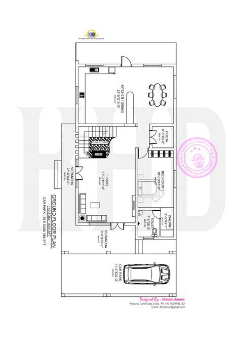 tamilnadu house plans beautiful modern house in tamilnadu kerala home design