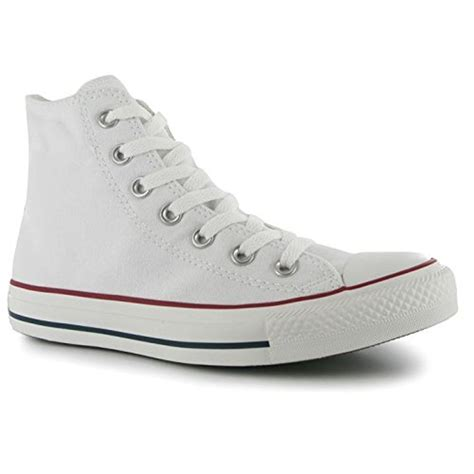 Converse All 5 converse all hi top mens trainers optical white uk
