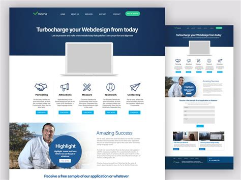 30 newest free website templates for 2017