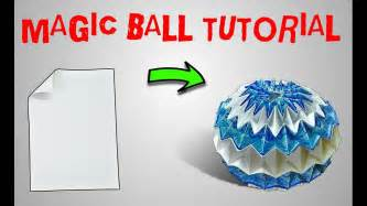 french kiss tutorial magic origami origami magic ball tutorial part 2 origami