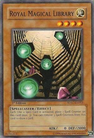 royal magical library deck chiến thuật đặc biệt thứ 23 spell counter sức mạnh ma ph 225 p