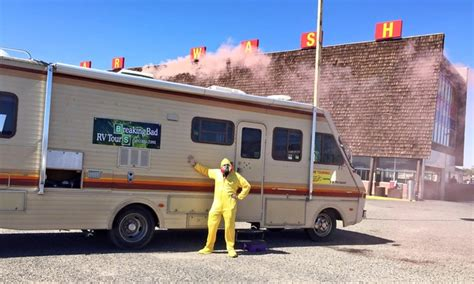 Rv In Breaking Bad quot breaking bad quot tours breaking bad rv tours groupon