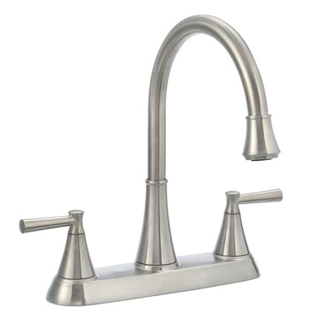 Kitchen Faucet Handles Pfister Cantara High Arc 2 Handle Standard Kitchen Faucet With Side Sprayer In Stainless Steel F