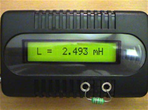 inductance meter nh accurate lc meter based on pic16f84a ic