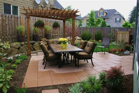 small yard living and landscaping patio ideas for small spaces my home style