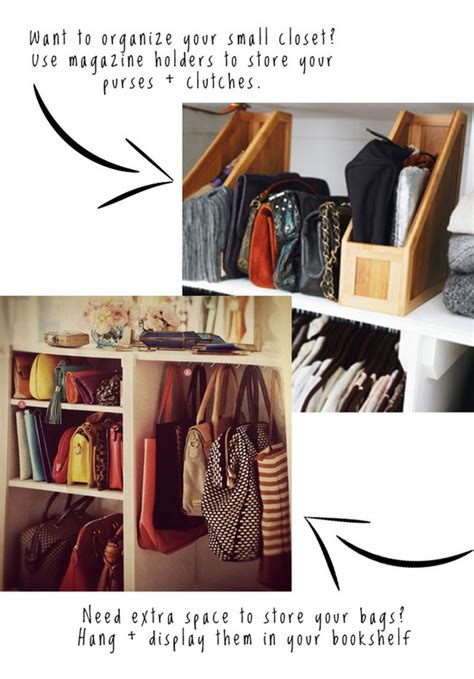 How To Organize Bags In Closet by Organizing And Storing Handbags Organize And Decorate