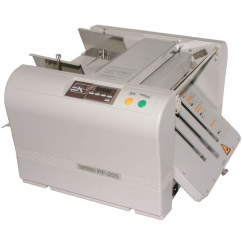 Paper Folding Machines - pf 205 paper folding machine