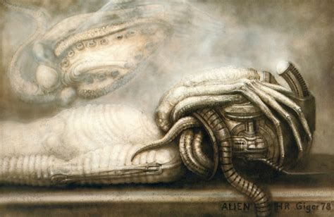 H R Giger Sketches by Prometheus And The Of H R Giger 187 Redbubble