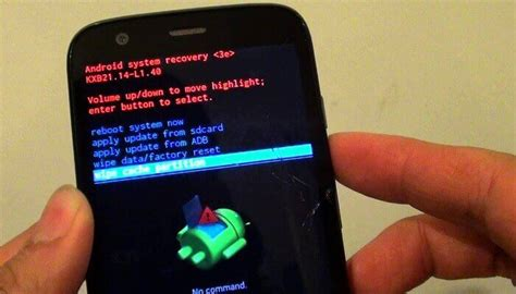 reset android cache what to do to clear android cache