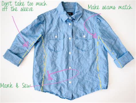 how to make a shirt how to make a shirt smaller for streetlights