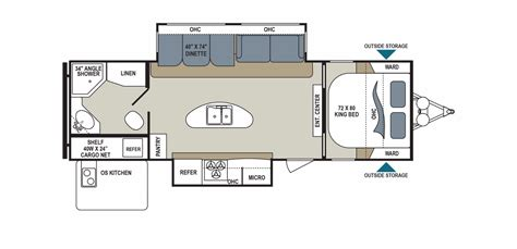 aerolite floor plans 2017 dutchmen aerolite 272rbss cing world of