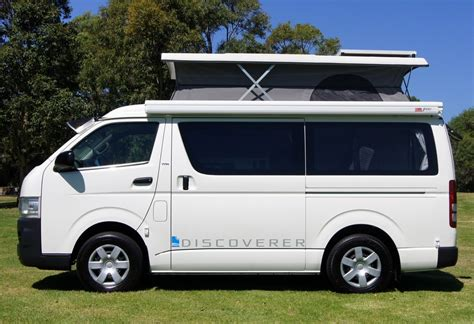 Toyota Hiace Conversions Toyota Hiace Discoverer Automatic With Shower New