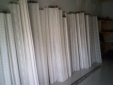 Cetakan Gypsum Matras Fiber list propil gypsum gypsum models 2014