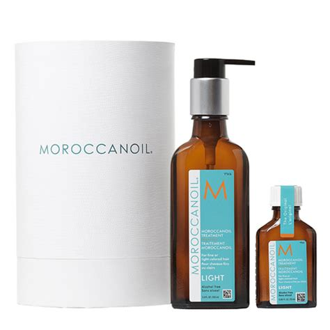 Moroccanoil Light by Moroccanoil Treatment Home And Away Cylinder Light