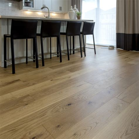 smooth white oak natural vintage hardwood flooring  engineered flooring