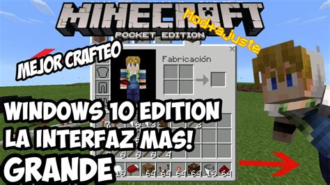 windows 10 minecraft tutorial minecraft pe 0 14 0 windows 10 edition interfaz mas grande