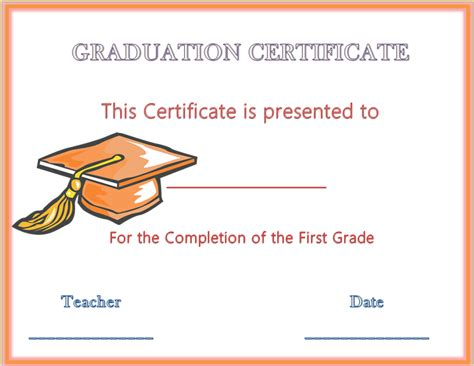 templates for graduation certificates 13 graduation certificate templates certificate templates