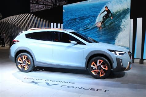 New Subaru 2018 Models by Subaru Xv Concept Hints At Next Crosstrek Due For 2018