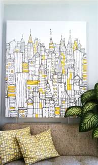 Cityscape Curtains 34 Beautiful Wall Art Ideas And Inspiration