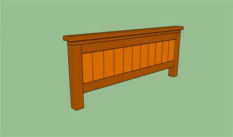 how to build a size bed frame howtospecialist