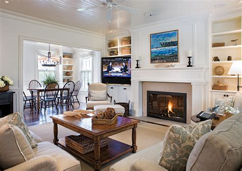 Nantucket Living Room by Nantucket Style Great Room Slc Tv