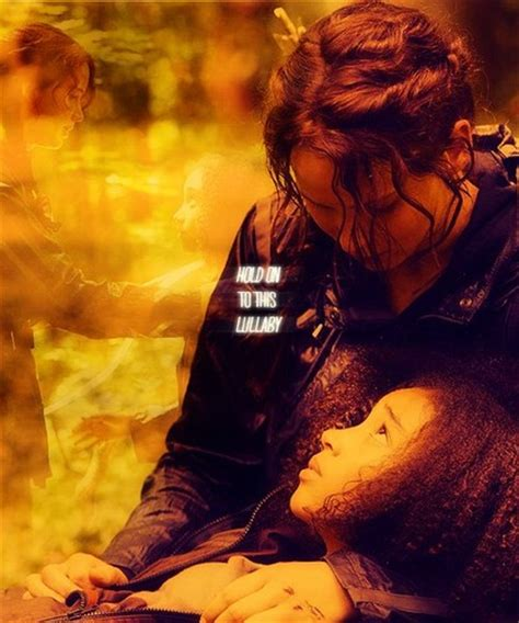 the hunger games images rue katniss wallpaper and