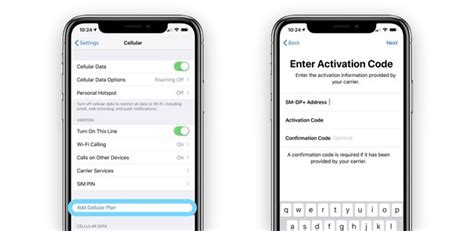 how to use dual sim and esim on iphone xr and xs appletoolbox