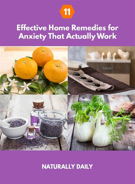 11 effective home remedies for anxiety that actually work