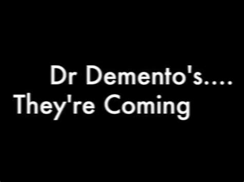 dr demento dead puppies dr demento they re coming to take me away lyrics
