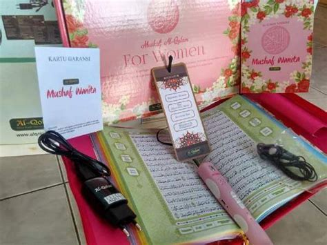 Mushaf New Pen Hafiz Free Meja Lunchbox mushaf for women alqolam rumah raisha