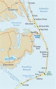 outer banks map of outer banks nc outer banks vacation guide