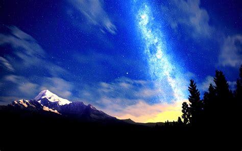 beautiful beauty majestic night nature mountains hd desktop wallpaper