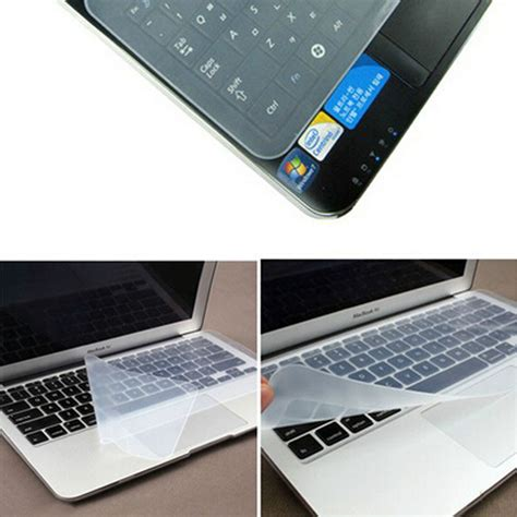 Cover Pelindung Keyboard Notebook Bahan Silicon 3 14 quot 15 quot 17 quot laptop keyboard waterproof notebook keyboard protective silicone laptop