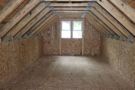 Awesome Garage Attic 3 Garage With Attic Storage Trusses