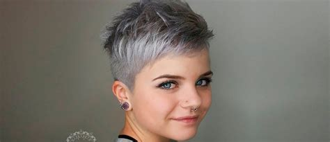 18 short grey hair cuts and styles lovehairstyles com