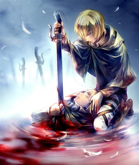 anime art armin arlert attack on titan image 1597147 zerochan