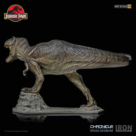 jurassic park car trex jurassic park t rex by iron studios and chronicle