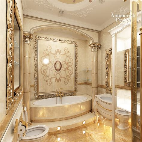 luxury bathrooms designs luxury house project by antonovich design