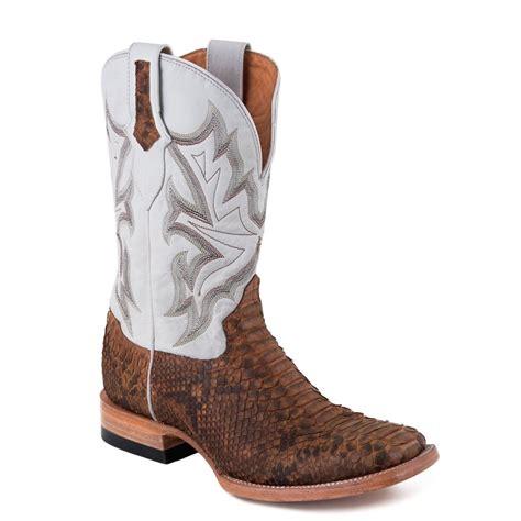 black square toe cowboy boots for shoes mod