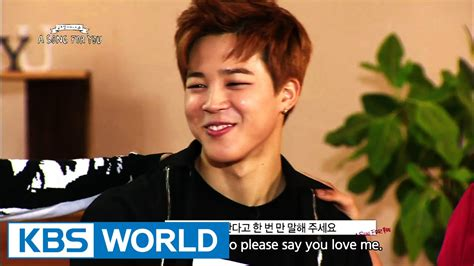 a song for you global request show a song for you 3 ep 12 with bts