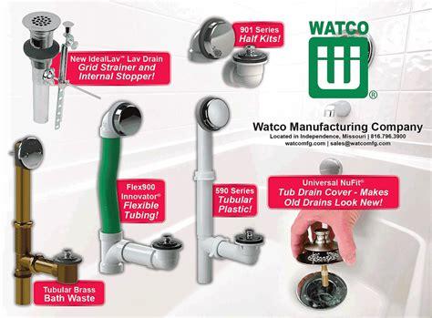 Watco Plumbing Fixtures by Watco Mfg Co Spec Sheets