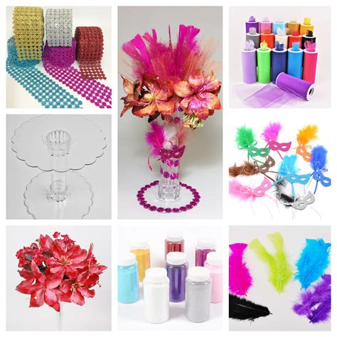 diy 14 quot flowers and feathers centerpiece dq109