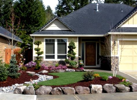 Backyard Landscaping Cost Simple Low Cost Front Yard Landscaping Ideas Home Design