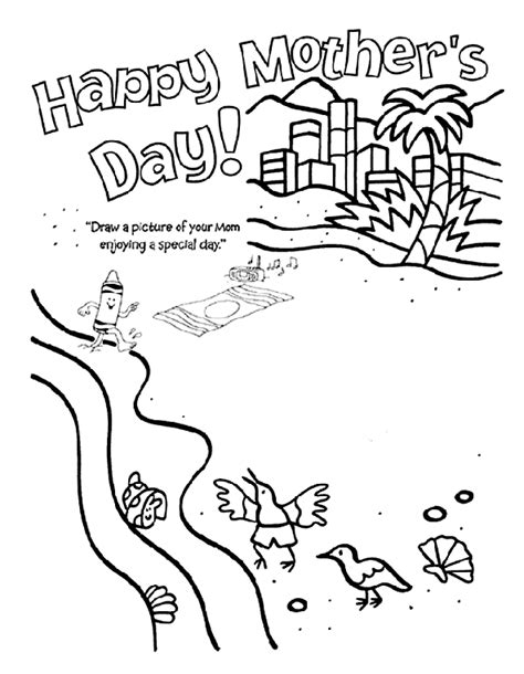 crayola coloring pages mothers day happy mother s day crayola co uk
